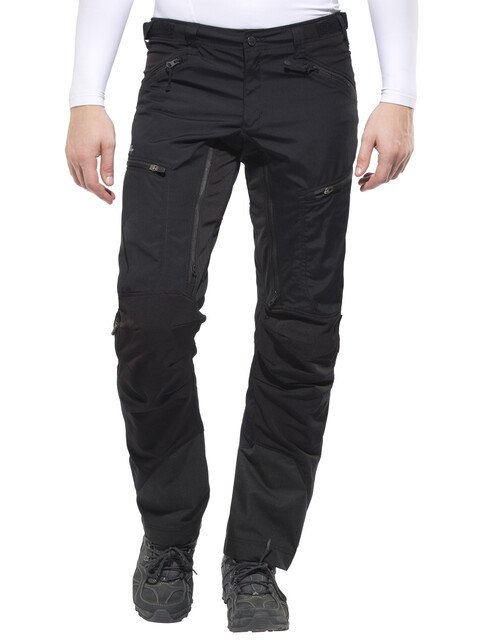 Lundhags Makke Spodnie długie Mężczyźni czarny